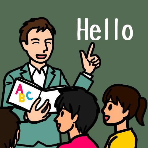 ネイティブ英語講師に学ぶ小学生