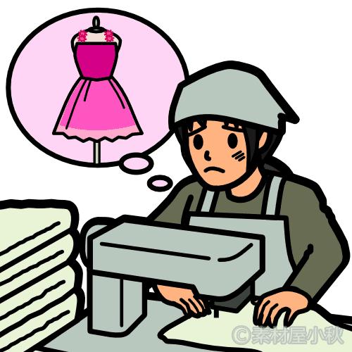 婦人・子供服製造のはずがタオルを作らされる外国人技能実習生