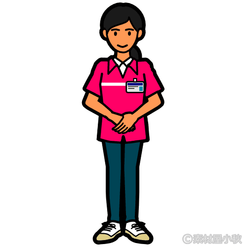 コンビニ外国人店員(女性)