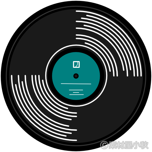 レコードのイラスト